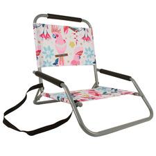 Rose Cockatoo Foldable Beach Chair