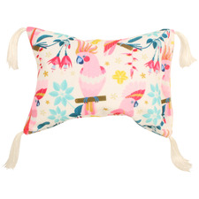 Rose Cockatoo Inflatable Beach Pillow