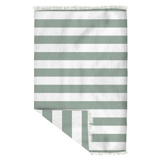 Retro Stripe Beach Towel