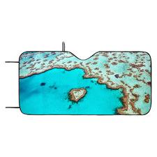 Great Barrier Reef Car Window Shade
