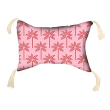 Coco Palms Inflatable Beach Pillow