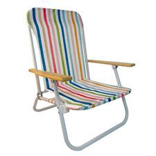 Pastel Stripe Beach Chair