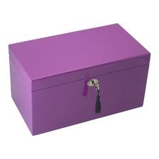 Large Purple Kandi Luxury Jewellery Box