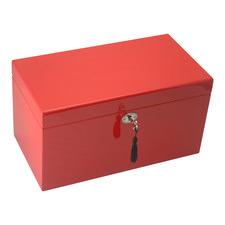 Large Red Kandi Luxury Jewellery Box