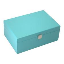 Medium Teal Blue Kandi Luxury Jewellery Box
