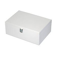 Medium White Kandi Luxury Jewellery Box