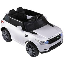 White Rangerover Ride-On Toy Car