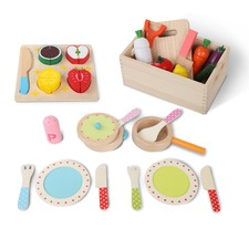 3 in 1 Children's Wooden Kitchen Set