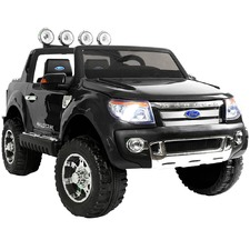 Black Ride-On Ford Ranger Toy Car