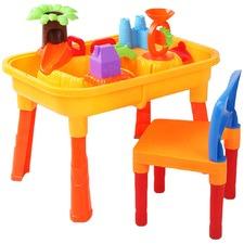 Kids' Table & Chair Sandpit Set