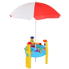 26 Piece Kids' Umbrella & Table Play Set