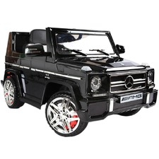 Black Ride On Mercedes Benz G65 Toy Car