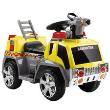Kids Ride On Fire Truck Car