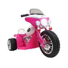 Pink Kids Ride On Police Motorbike
