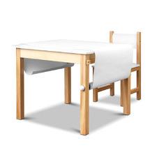 White Mason Kids Art Table & Chair Set
