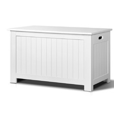 White Eclipse Kids' Toy Storage Cabinet