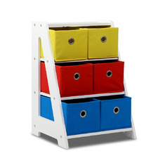 Captain Multi-Bin Fabric Toy Storage