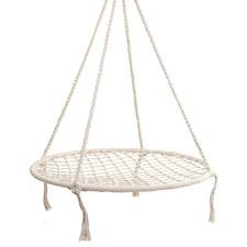 Cream Nest Kids Hammock Swing Chair
