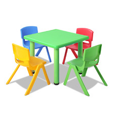 4 Seater Perry Kids' Table & Chair Set
