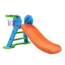 Kids Perry Slide with Basketball Hoop & Ladder Base