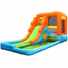 Kids' Happy Hop Outdoor Inflatable Water Park Slide