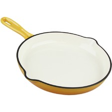 Orange Xanten 26cm Cast Iron Skillet