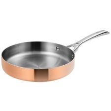 Lassani 24cm Copper Sauté Pan