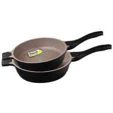 2 Piece K2 Deep Fry Pan Set