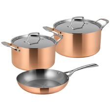 3 Piece Lassani Duality Cookware Set