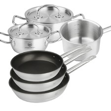 6 Piece Pro X Juno Stainless Steel Cookware Set