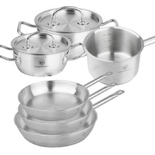 6 Piece Pro X Ingrid Stainless Steel Cookware Set