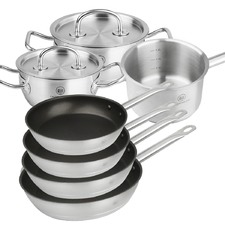 7 Piece Pro X Juno Stainless Steel Cookware Set