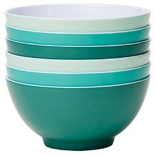 6 Piece Harmony Classic 15cm Melamine Bowl Set