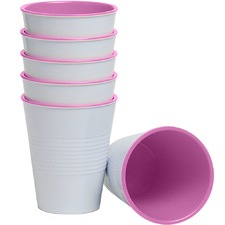 Pink Retro 275ml Melamine Tumblers (Set of 6)