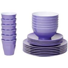 Lavender Classic Melamine Dinner Set