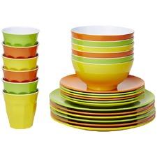 Citrus Classic Pro Melamine Dinner Set