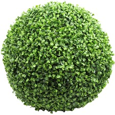 Faux Boxwood Ball Plant