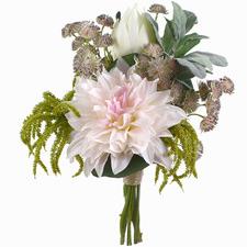 Faux Native Mixed Dahlia Bouquet