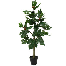 90cm Potted Faux Fig Tree