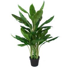 115cm Potted Faux Dracaena Plant