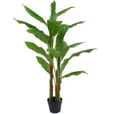 114cm Potted Faux Spathyium Plant