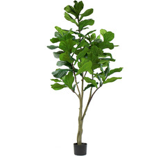 Potted Faux Fiddle-Leaf Fig Tree