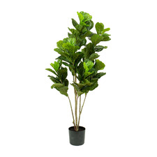 152cm Potted Faux Fiddle Leaf Tree