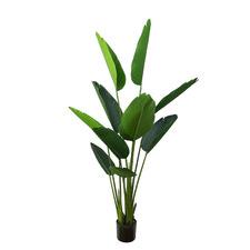150cm Potted Faux Traveller's Palm Plant
