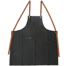 Premium Cotton & Leather Apron