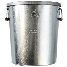 Galvanised Hot Ash Metal Bin