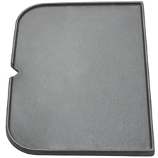 Black Force Flat Cast Iron Grill Plate