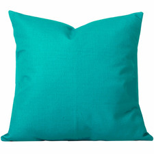 Turquoise Solid Georgia Cushion