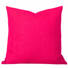 Pink Watermelon Solid Georgia Cushion