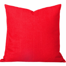 Burnt Orange Solid Georgia Cushion